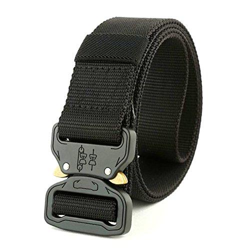 Cinturón táctico, resistente Cobra Tactical cinturón resistente de liberación rápida estilo militar...