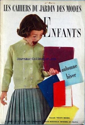 cahiers-du-jardin-des-modes-le-no-75-du-01-08-1953-enfants-automne-hiver-tricots-nounou-lanvin-marti