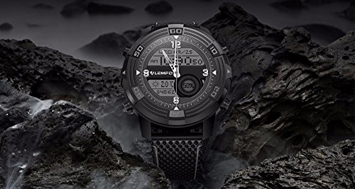 PINCHU LEM6 Smart Watch Smartwatch 1GB 16GB Watch Phone MTK6580 Smartwatch Waterproof GPS Heart Rate Monitor Bluetooth 3G