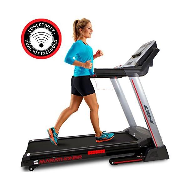 BH Fitness WG6458RF i.Marathoner - Tapis roulant - Elettrico - Pieghevole - Vel.Max. 21 Km/h - Inclinazione in 15… 1 spesavip