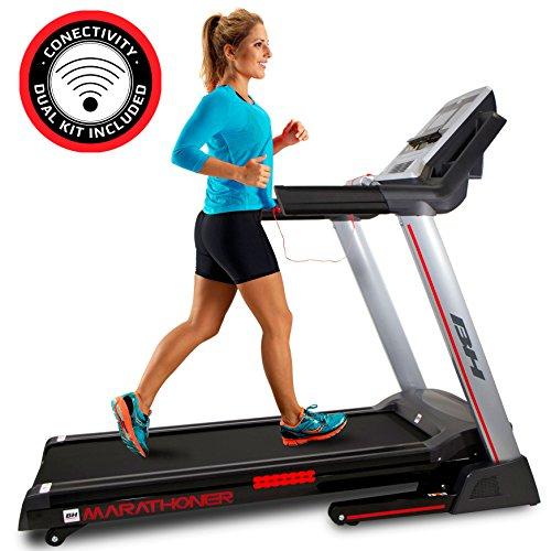 BH i.Marathoner cinta de correr plegable - 21Km/h - 36 programas - 8 años garantía - Fitness apps - WG6458RF