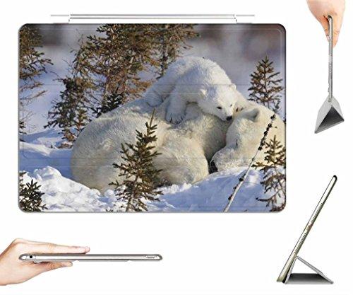 iPad Mini 3 / Mini 2 / Mini Case + Transparent Back Cover - Warm mattress - [Auto Wake/Sleep Function] [Ultra Slim] [Light Weight]
