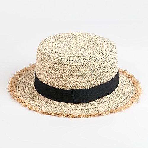 mmers elegante H¨¹te Die koreanische Version von Stroh Hut auf Strand - in der sonnenblende Weiblich (Cowboy-hüte Für Kinder In Bulk)