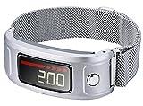 Ersatzband für Armbanduhr Garmin Vivofit und Garmin Vivofit 2, nicht für Garmin Vivofit 3/HR/JR, A00 GR03- Silver