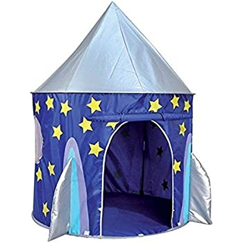 Spirit of Air Kids Kingdom Pop Up Space Rocket Play Tent  sc 1 st  Amazon UK : ikea murmel tent - memphite.com