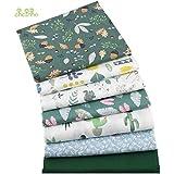 Comius Sharp Tissus Coton Couture, Tissus en Coton pour Patchwork, Paquets de Tissus pour Patchwork et Patchwork de Tissu au