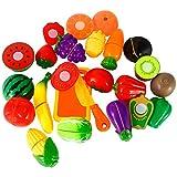 Twister.CK Juego de Alimentos Play para niños, 18 pz. Juego de...