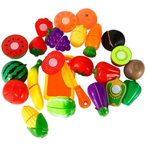 Twister.CK Juego de Alimentos Play para niños, 18 pz. Juego de imaginación...