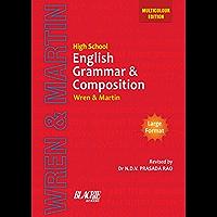 High School English Grammar and Composition Book (Multicolour Edition)