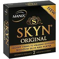 Manix SKYN Latexfreie Kondome Original 2 Stck., Transparent preisvergleich bei billige-tabletten.eu