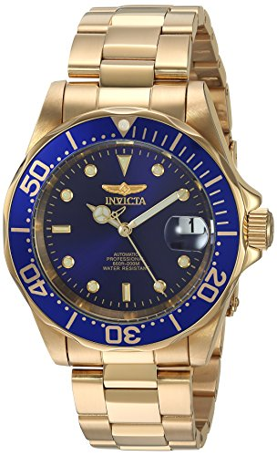Invicta 8930 Pro Diver Unisex Wrist Watch Stainless Steel Automatic Blue Dial