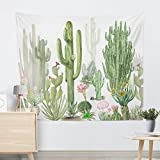 Best Cotton Craft Picnic Blankets - GTUK Wall Hanging Cactus Tapestry Cotton Bohemian 200 Review