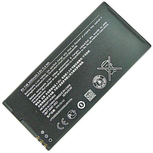 Microsoft Lumia 640 XL LTE / 640 XL LTE Dual Sim Akku Li-Ion BV-T4B 3000mAh Battery Lithium Ion Batterie Cell
