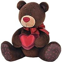Naranja Toys C003/20 Choco con corazón – oso de peluche para niños y adultos