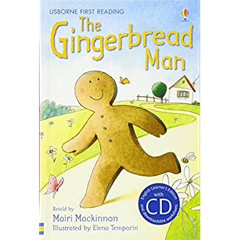 The Gingerbread Man. Book + Cd: Usborne English-Lower Intermediate (Level 3) [Lingua Inglese]