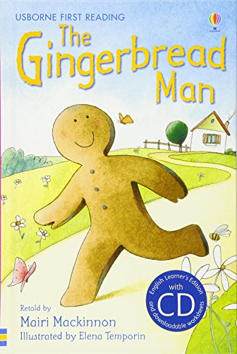 The gingerbread man. Con CD Audio (Usborne First reading)