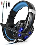 Best Microsoft Games Mac - Auriculares Cascos Gaming ArkarTech Headset Gamer con Micrófono Review