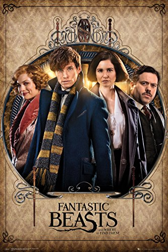 Poster Fantastic Beast and Where to find them - Personaggi (61cm x 91,5cm)