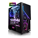 Megaport High End Gaming-PC Intel Core i7-9700K 8X 4.9 GHz Turbo • Nvidia GeForce RTX 2070 Super 8GB • 480 GB SSD • 16GB DDR4 3000 • Windows 10 • 1TB • WLAN