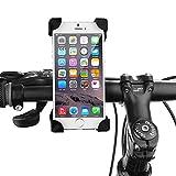 Bike phone Mount, crage® Universal Fahrrad Lenker Halterung Cradle für iPhone 766S Plus 5, Samsung Galaxy S7S6Edge, Nexus und andere Smartphone bis 17,8cm