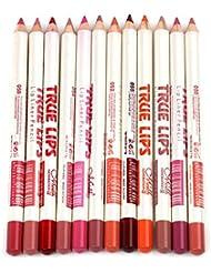 Joyjorya 12 Couleurs Etanche Lip Liner Crayons a levres Maquillage Rouges a levres Duree Outils12 Couleurs Etanche Lip Liner Crayons a levres Maquillage Rouges a levres Duree Outils