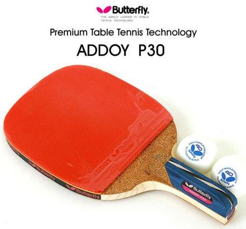 Butterfly addoy P30Tisch Tennisschläger Stiftetui Paddel Ping Pong Schläger & Ball