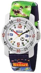 Scout Jungen-Armbanduhr Analog Quarz Textil 280376026