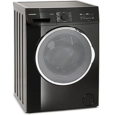 Montpellier MWD7512K 7kg Wash 5kg Dry 1200rpm Freestanding Washer Dryer-Black