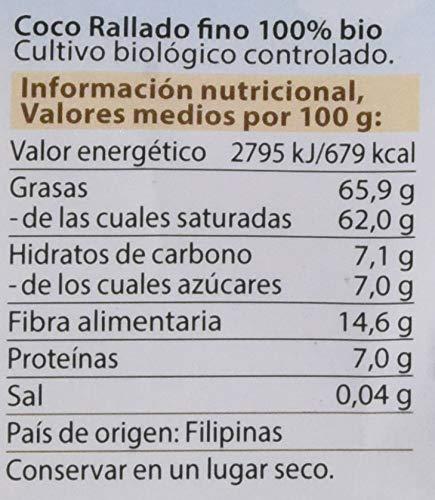 Dr. Goerg, Coco Ecológico rallado -Pack de 3 unidades de 300 gr