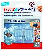 tesa Powerstrips® DECO transparent, max. 2
