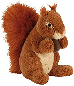 Heunec 281271 Naturline Softissimo - Ardilla de peluche (25 cm), color marrón