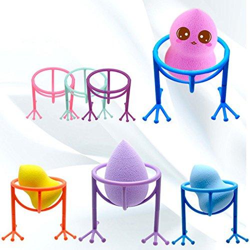 Msmask Schönheit Ei Makeup Puderquasten Trockengestelle Trockene Werkzeuge Halter Unterstützung Multicolors