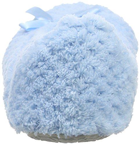 Isotoner Damen Ladies Popcorn Ballet Slippers Niedrige Hausschuhe Blue (Light Blue)