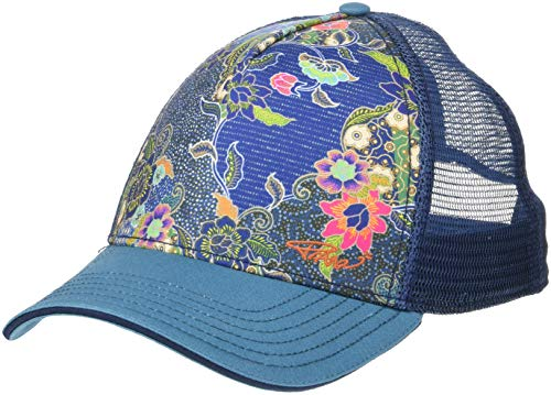 Prana La Viva Trucker Cap Women Blue Anchor kona 2019 Kopfbedeckung