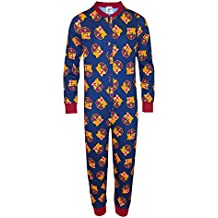 FC Barcelona - Pijama de una pieza para niños - Producto oficial