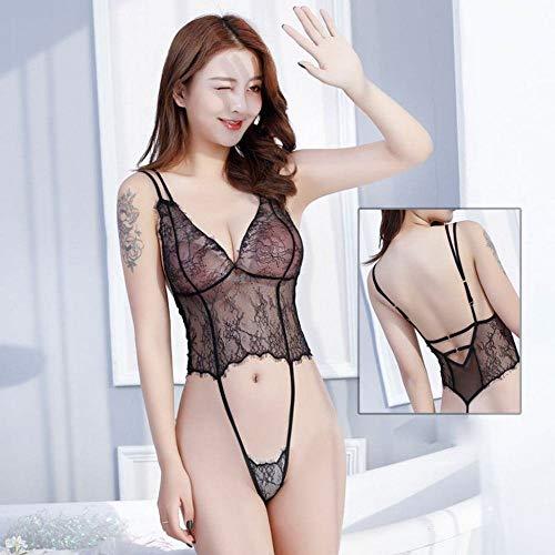 Western erotische Unterwäsche Lace Sling rückenfreie Weste Overall Perspektive tragen Passionsanzug kleine Brust liefert