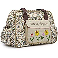 Pink Lining Blooming Gorgeous Baby Changing Nappy Bag - Busy Bees