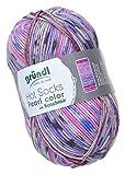 Gründl Hot Socks Pearl color – Fb. 07, weiche Wolle mit Kaschmir, nicht nur zum Socken stricken