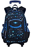 Best Rolling Back Packs - Rolling Backpack,COOFIT Wheeled Trolley Backpack Children's Backpack School Review