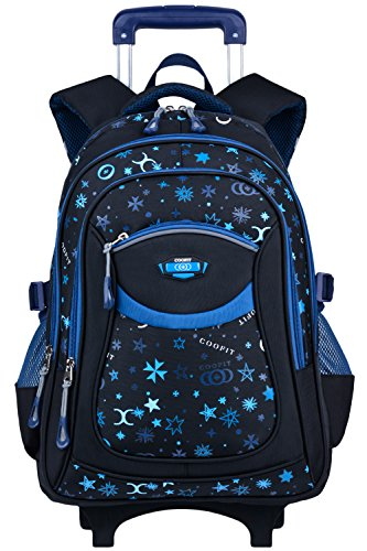 Trolley Rucksack, Coofit Schultrolley...