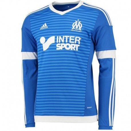 Adidas OM 3Jsy L–T-shirt pour homme, Bleu/Blanc XL bleu/blanc