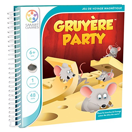 Smartgames - SGT 250 FR-8 - Gruyère Party - Denk- und Logikspiel
