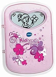 VTech Kidi KidiSecrets Pocket QWERTY - Electrónica para niños (Rosa, De plástico, CE, 6 año(s), Chica, 11 año(s))