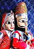 #10: Indyhaat Rajasthani Puppets (38.1 cm)