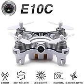 ONCHOICE E10C Mini Quadrocopter Drohne mit 2MP Kamera Spielzeug Geschenk
