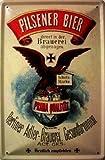 Berliner Adler Pilsener Bier Brauerei Berlin Blechschild Schild Blech Metall Metal Tin Sign 20 x 30 cm