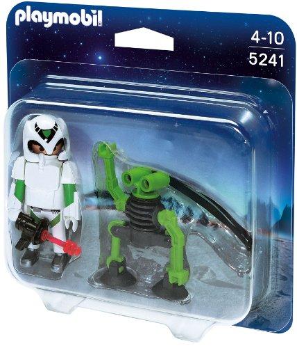 Preisvergleich Produktbild PLAYMOBIL 5241 - Duo Pack Astronaut mit Spy-Robot