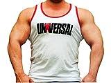 Universal Nutrition Universal Signature Series Custom Tank-White/White/L