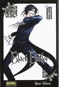BLACK BUTLER 03 par Yana Toboso