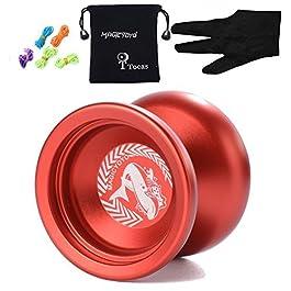 Autentica Magic Yoyo N12 Shark Honor professionale in alluminio palle yo-yo con il sacchetto e 5 cor